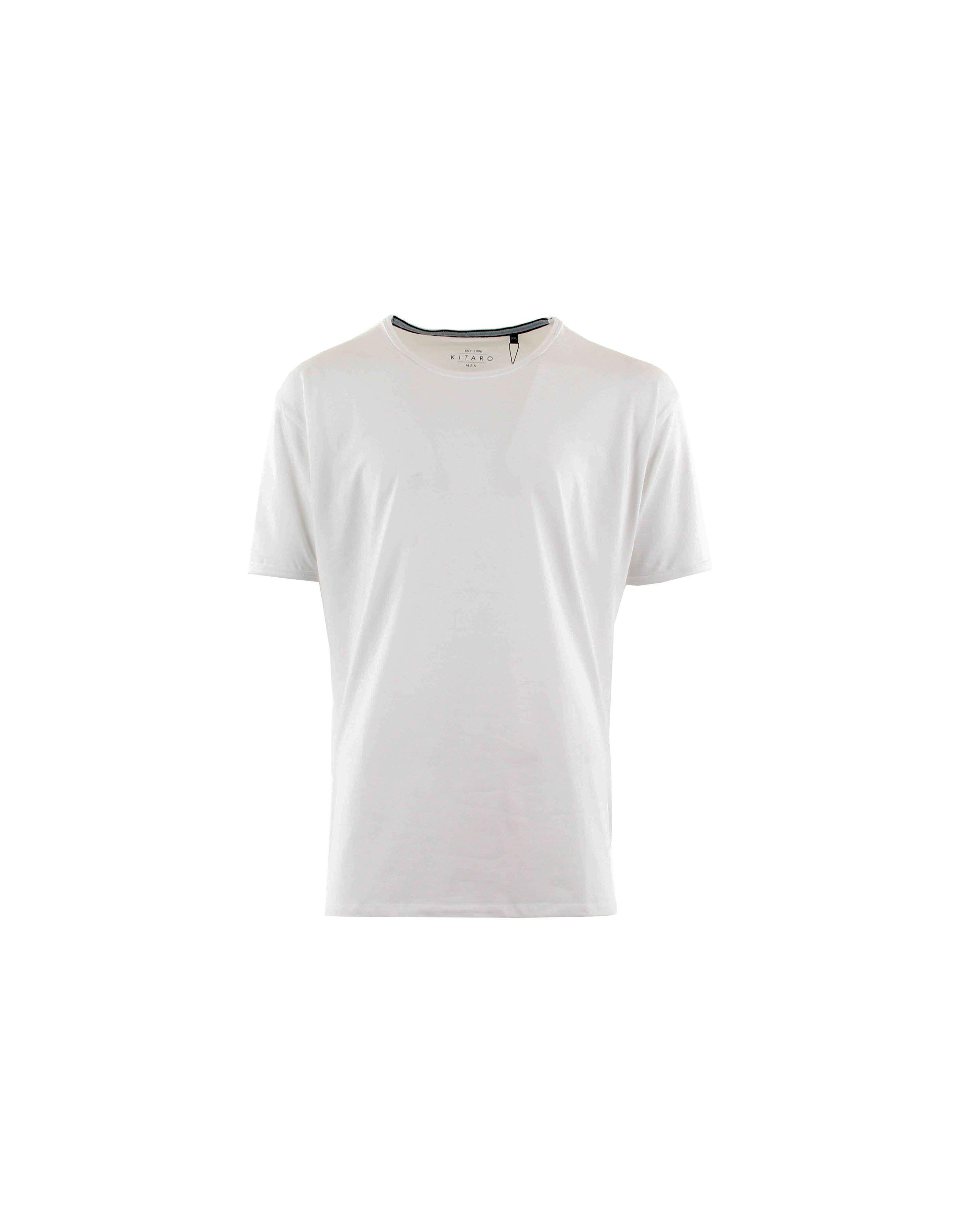 T-shirt col rond stretch