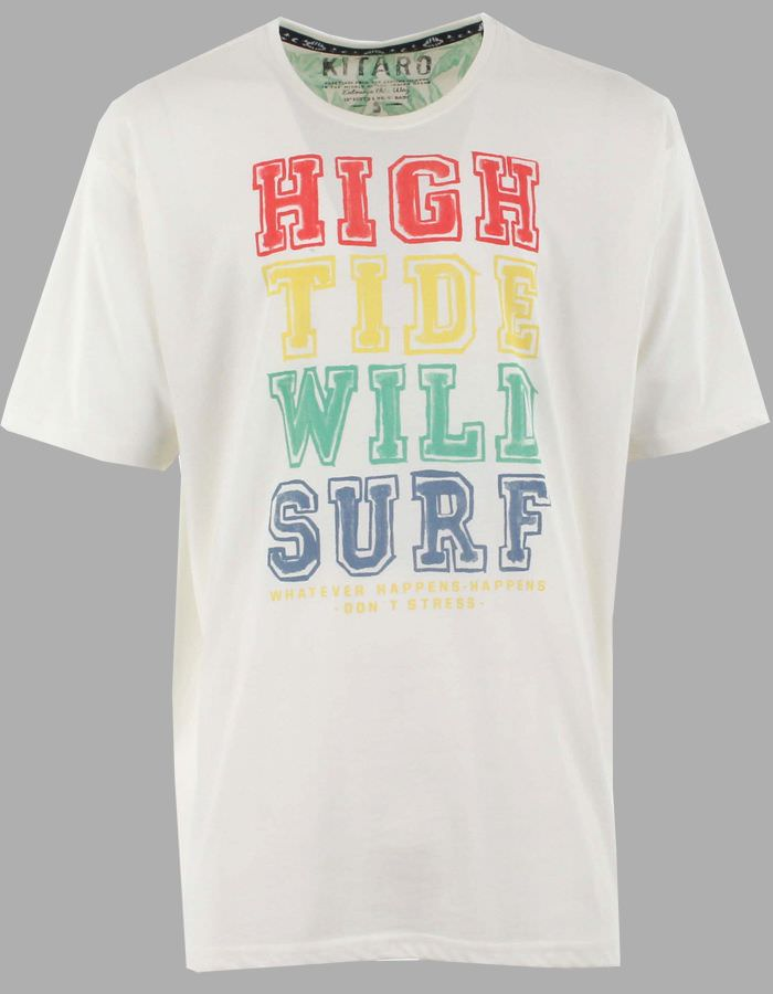 T-shirt texturé Wild Surf