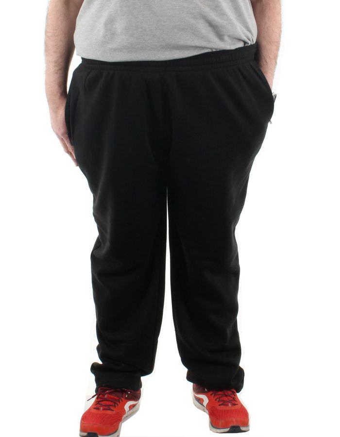 Pantalon jogging bas ouvert polyct