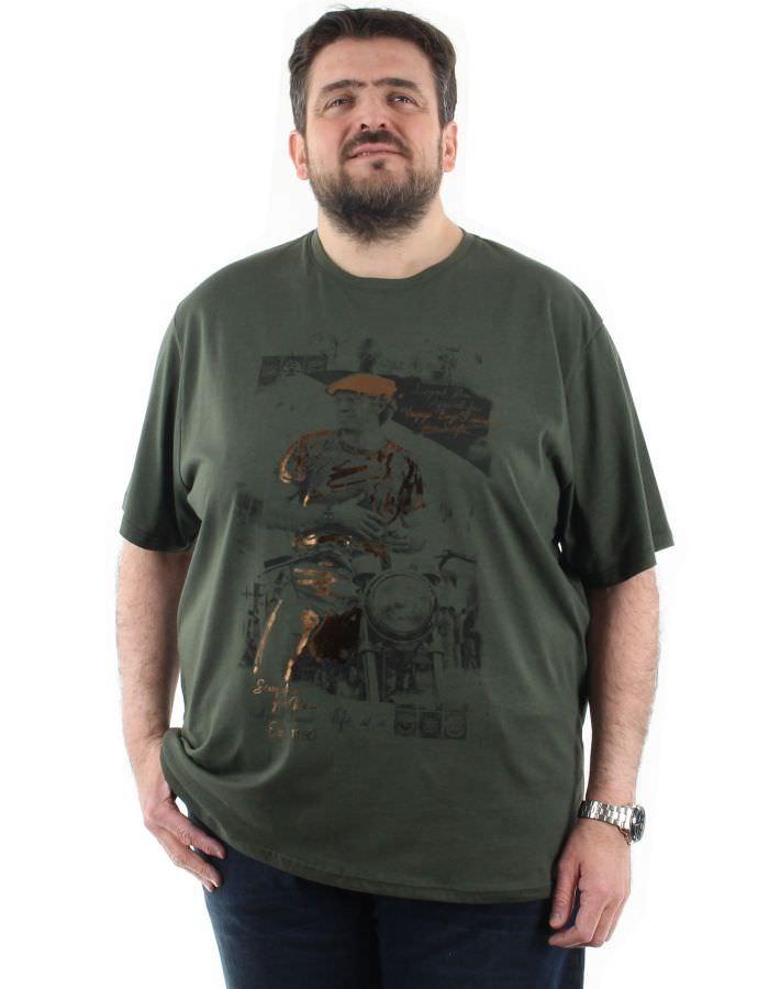 T shirt imprimé Steve Mc Queen