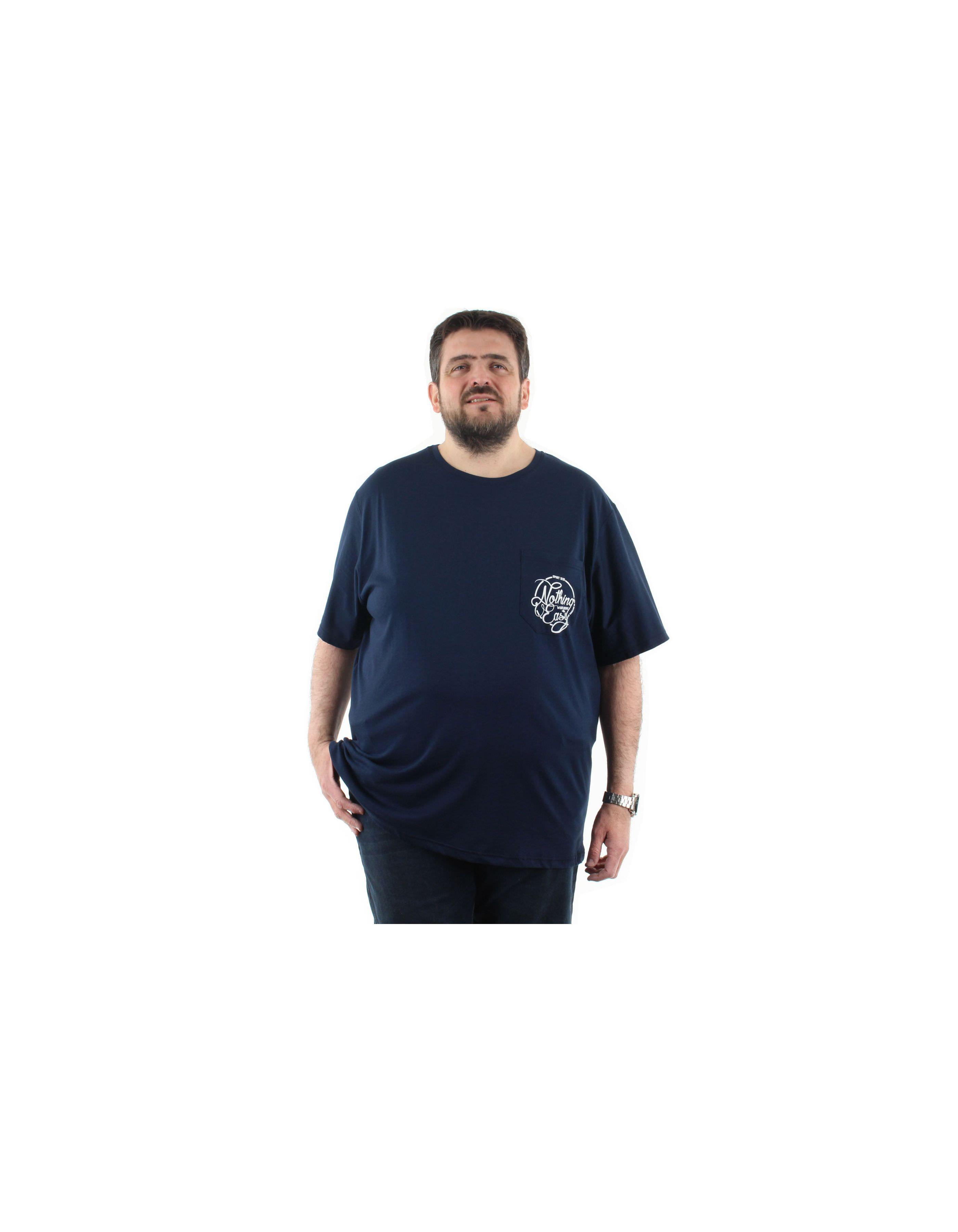 T shirt imprimé Nothing Easy