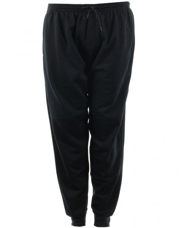 Pantalon de jogging fermé en bas  noir