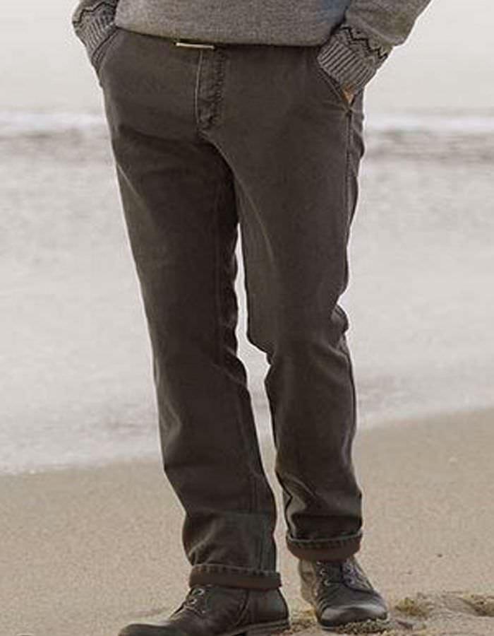 Pantalon toile ultra strech