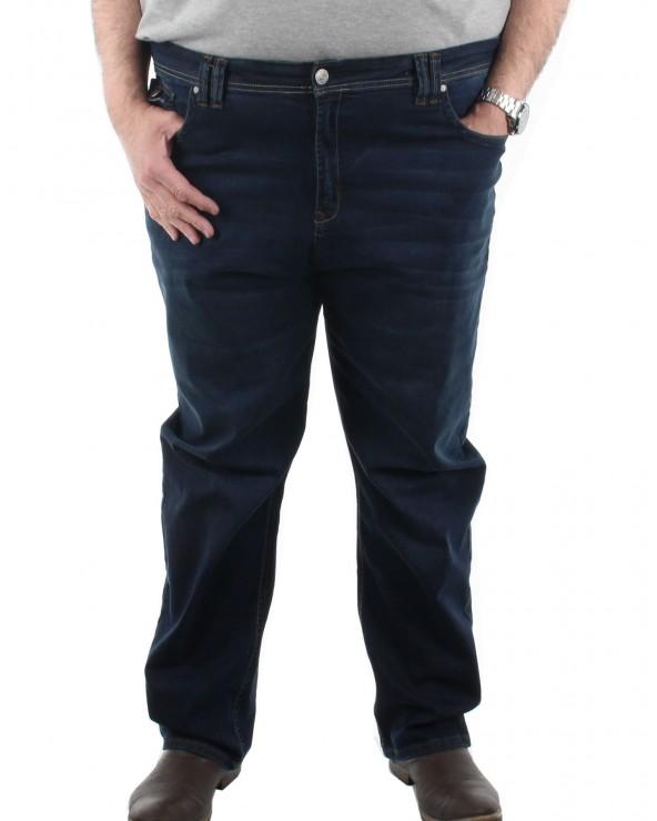 Jean classique stretch indigo