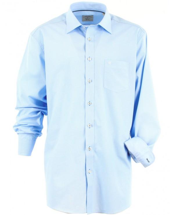 Chemise à motif discret