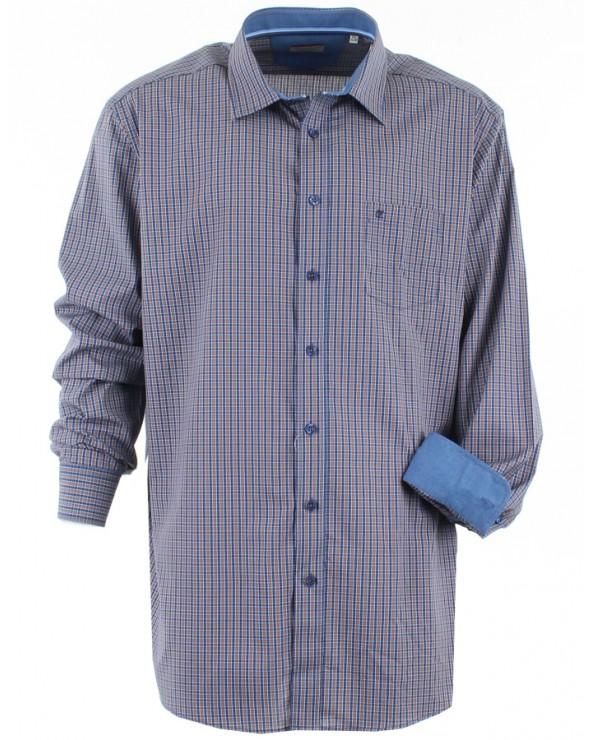 Chemise sport à carreaux