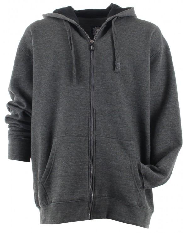 Sweatshirt à capuche zippé