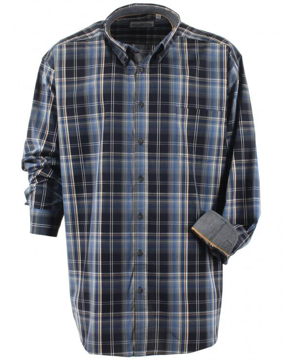 Chemise à gros carreaux