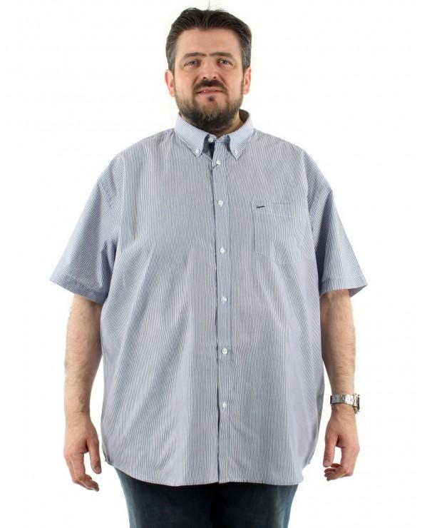 Chemisette à rayures avec poche