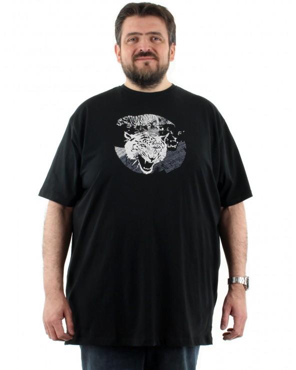 T shirt tête de tigre