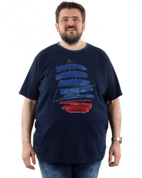 """T shirt imprimé """"Voilier"""""""