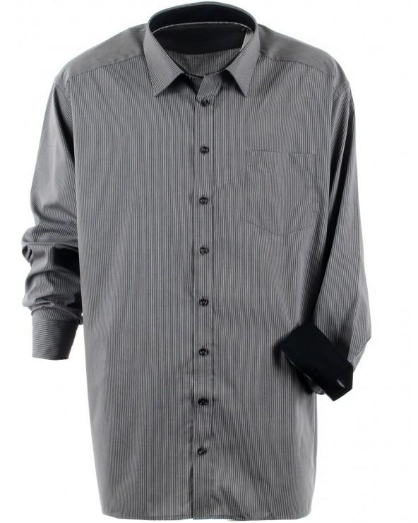 Chemise de ville à rayures