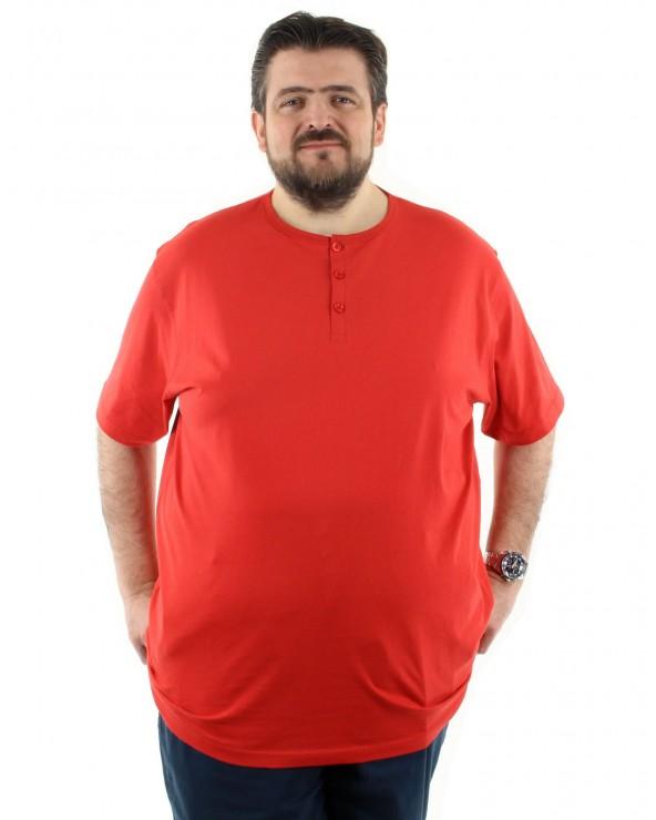 T shirt col boutonné un i