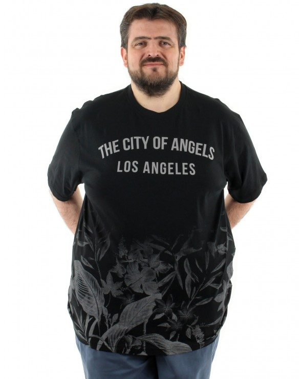 T shirt imprimé Los Angeles