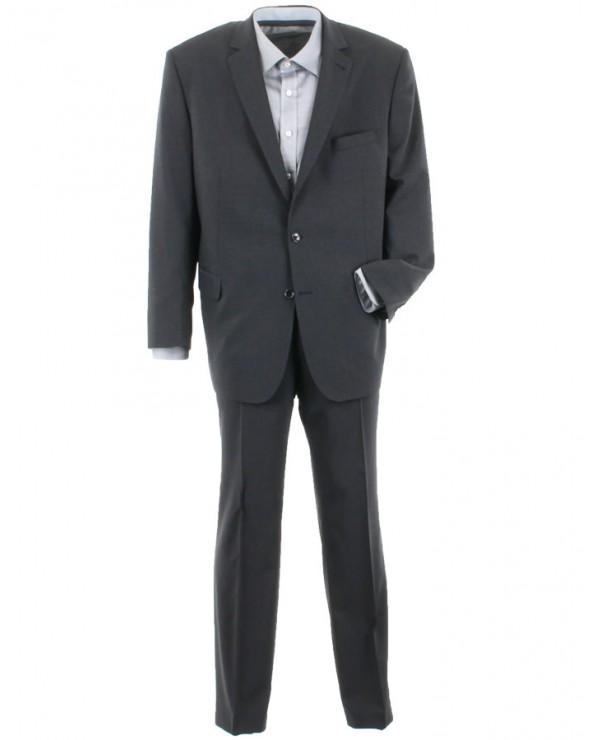 Veste de costume unie gris anthracite