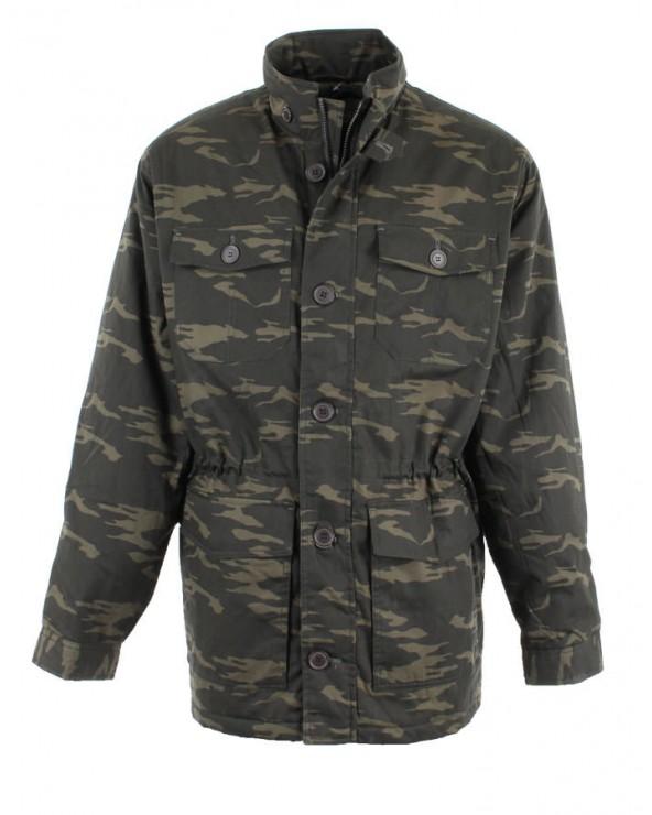 Blouson camouflage