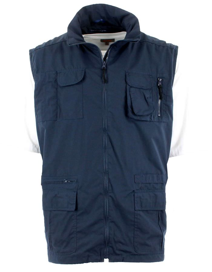 Gilet multipoches sans manches