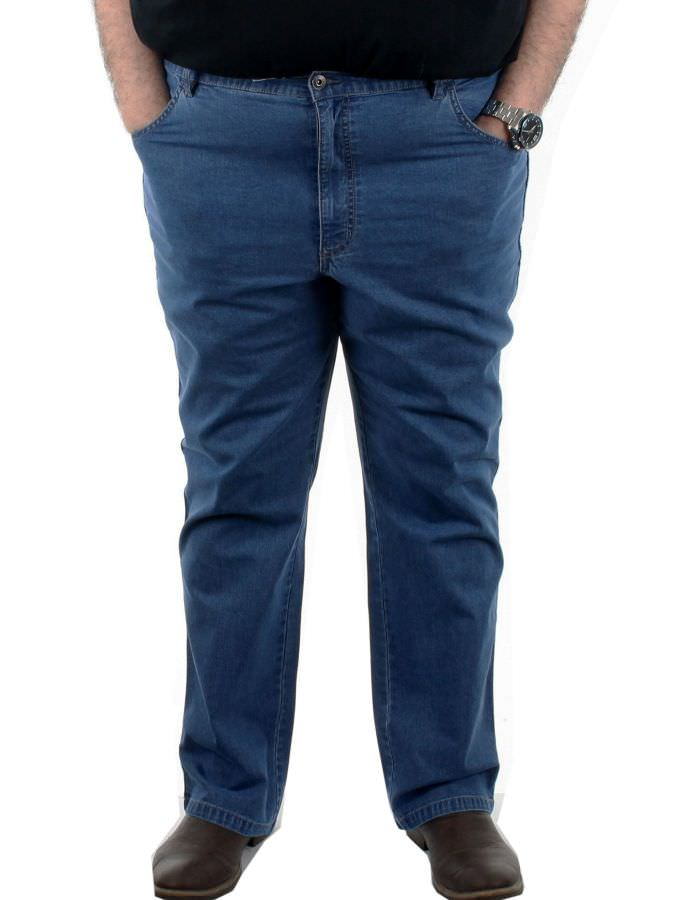 Jean strech bleu