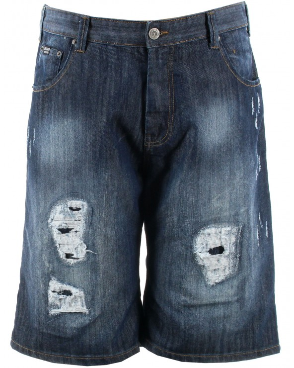 "Short en jean ""destroy"" BARRY"