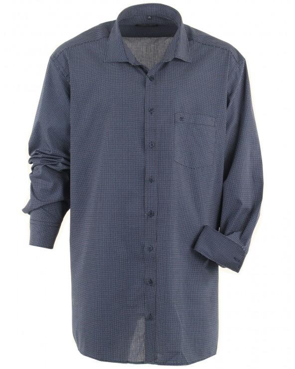 Chemise bleu nuit