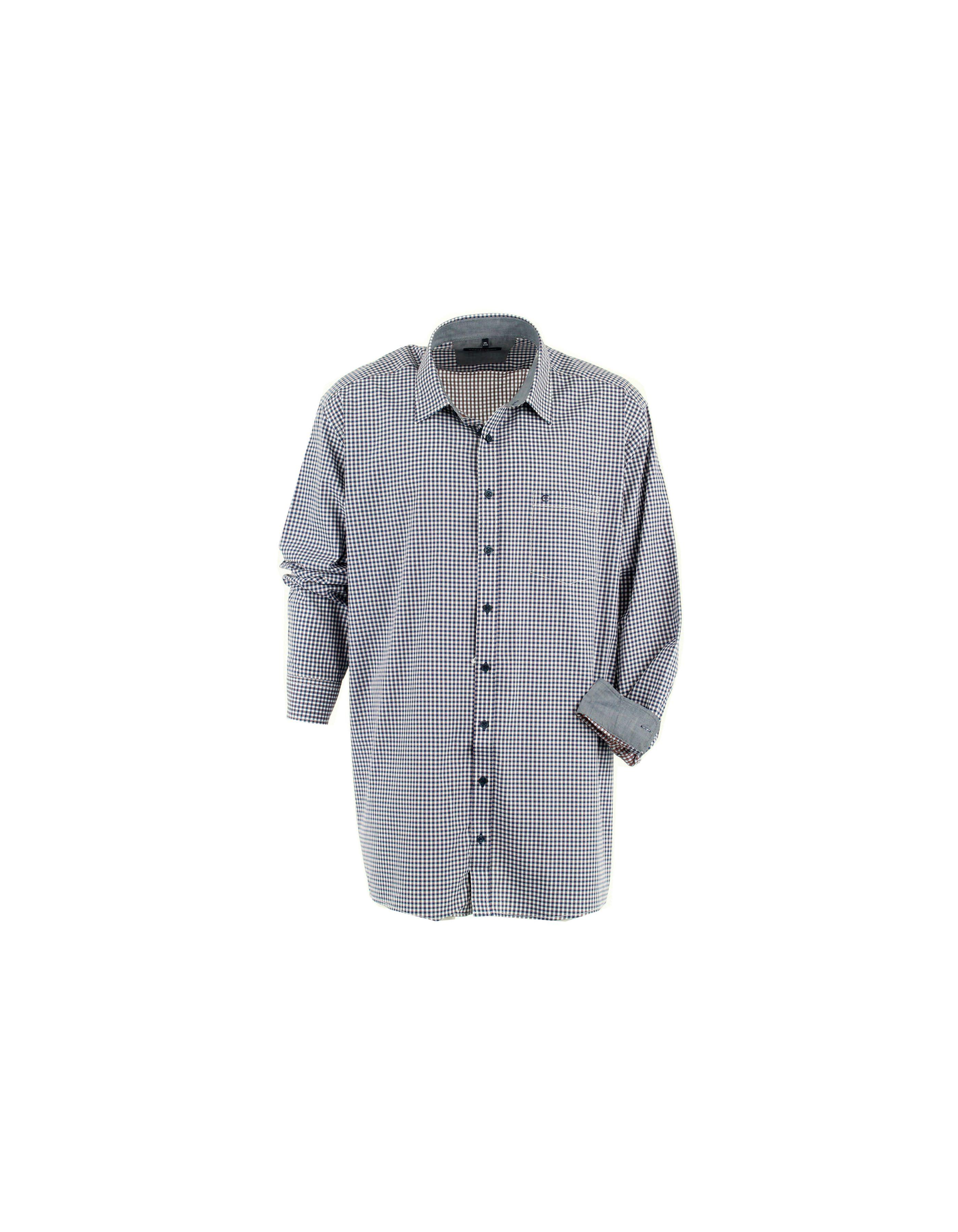 Chemise petits carreaux