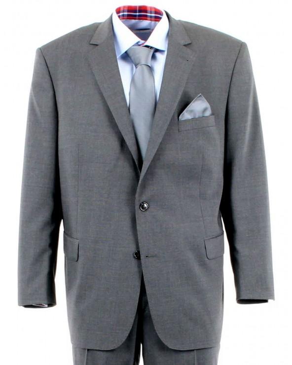 Veste de costume gris chiné