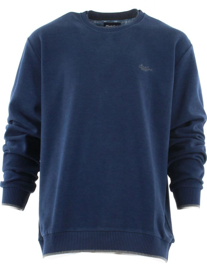 Pull col rond toucher doux