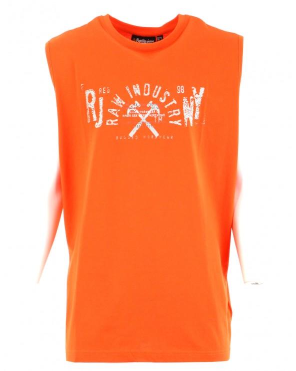 T-shirt sans manches imprimé