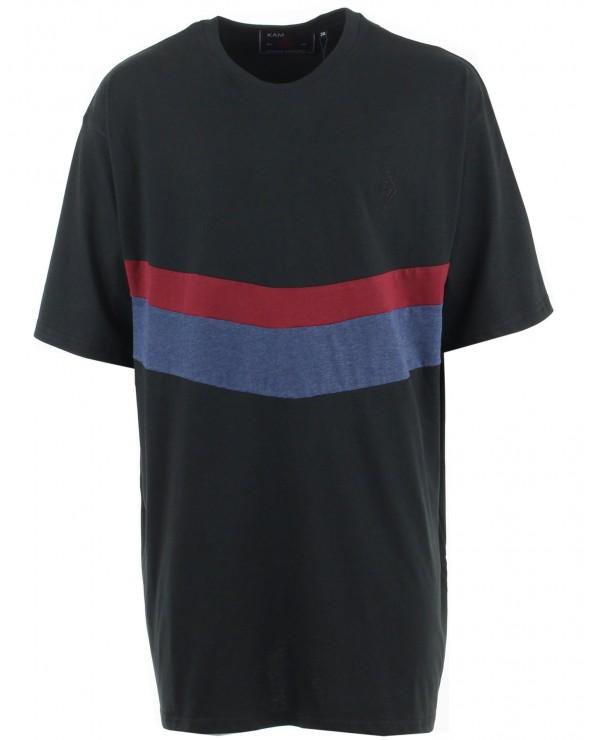 T Shirt motif en V