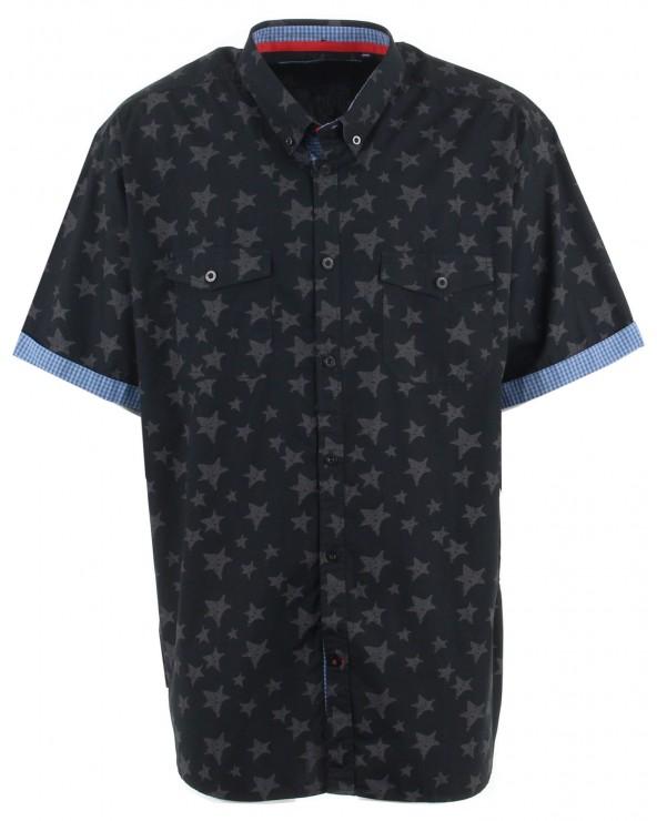 Chemisette avec poche et  motif étoile