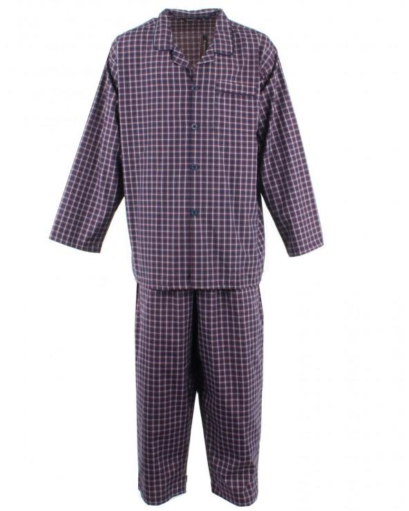 Pyjama long boutonné