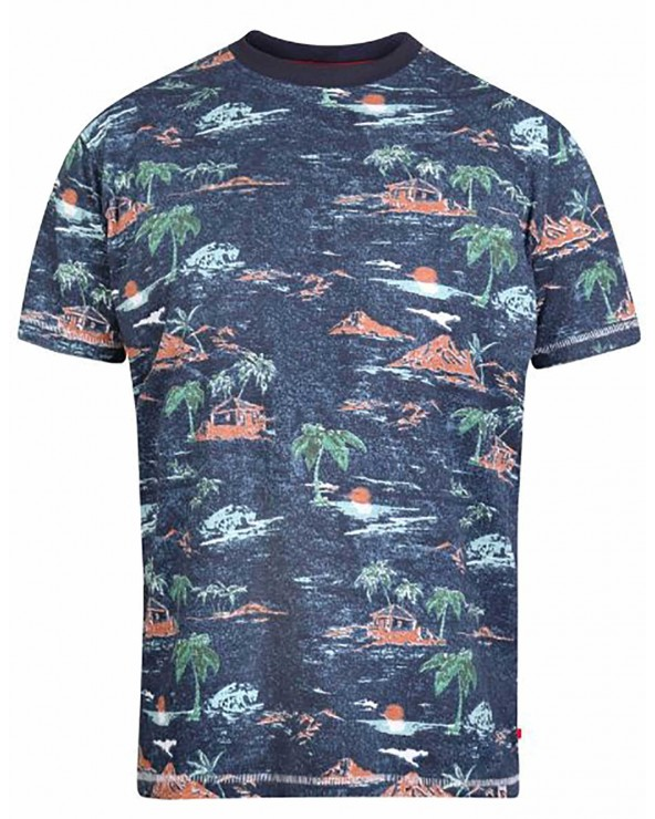 T shirt imprimé Hawaii