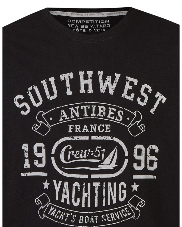 T shirt col rond French Riviera