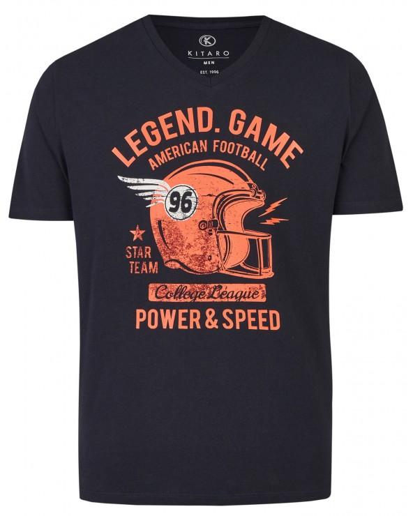 T shirt col V Athletic