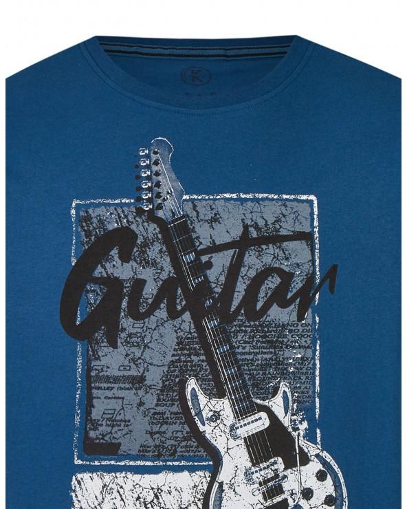 T shirt col rond Guitar