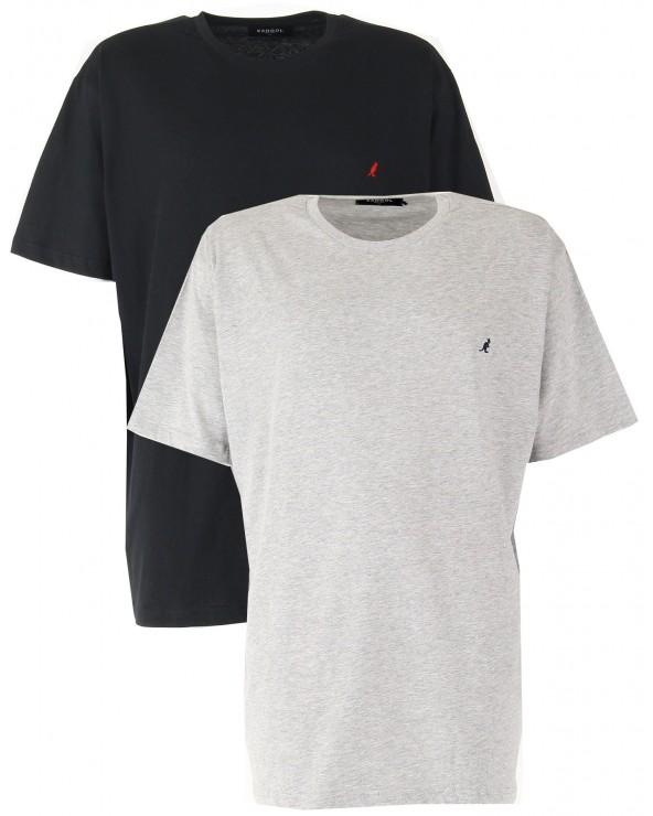 T shirt KANGOL pack de 2