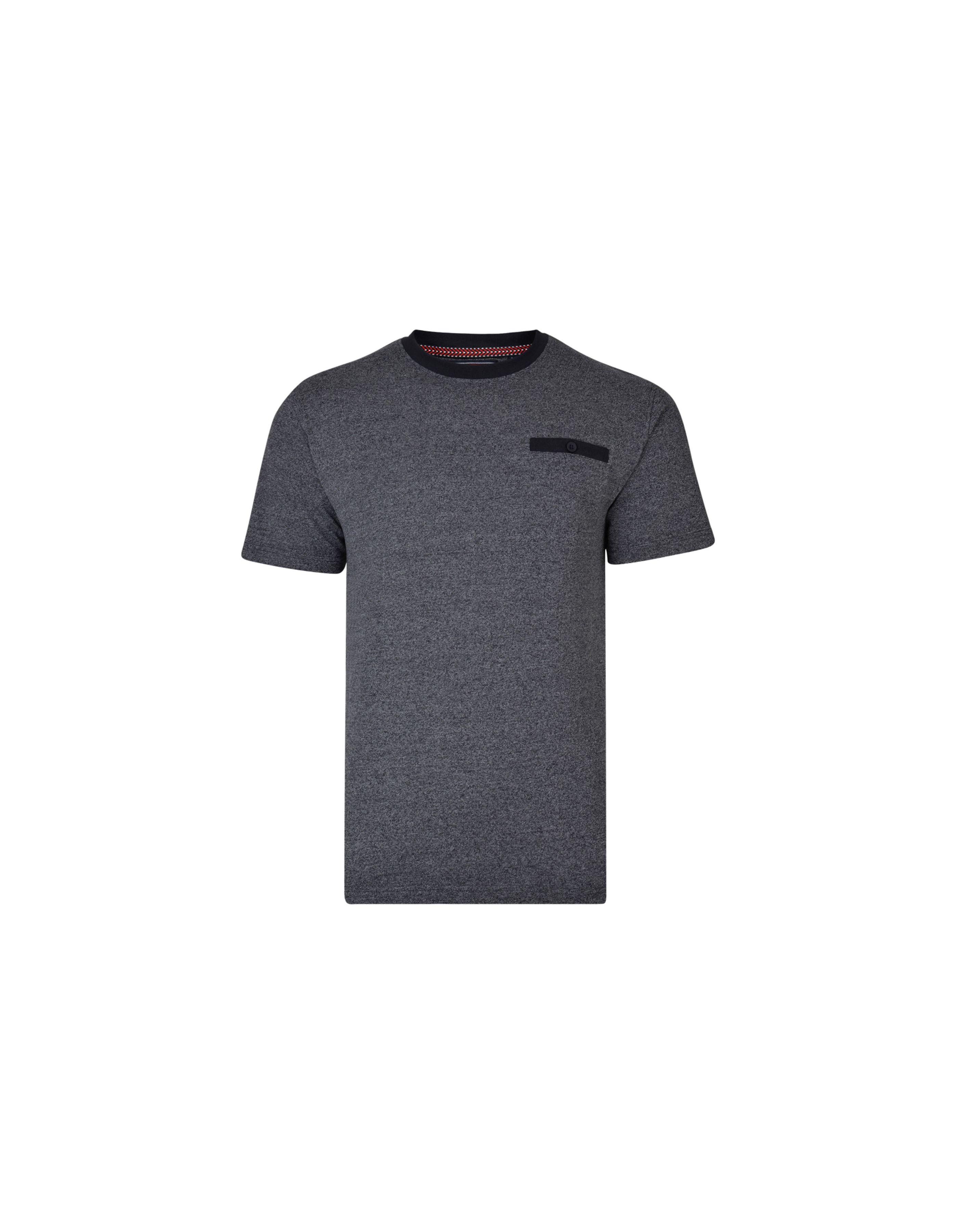 T Shirt chiné avec poche