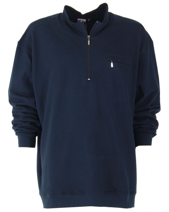 Sweatshirt col cammionneur