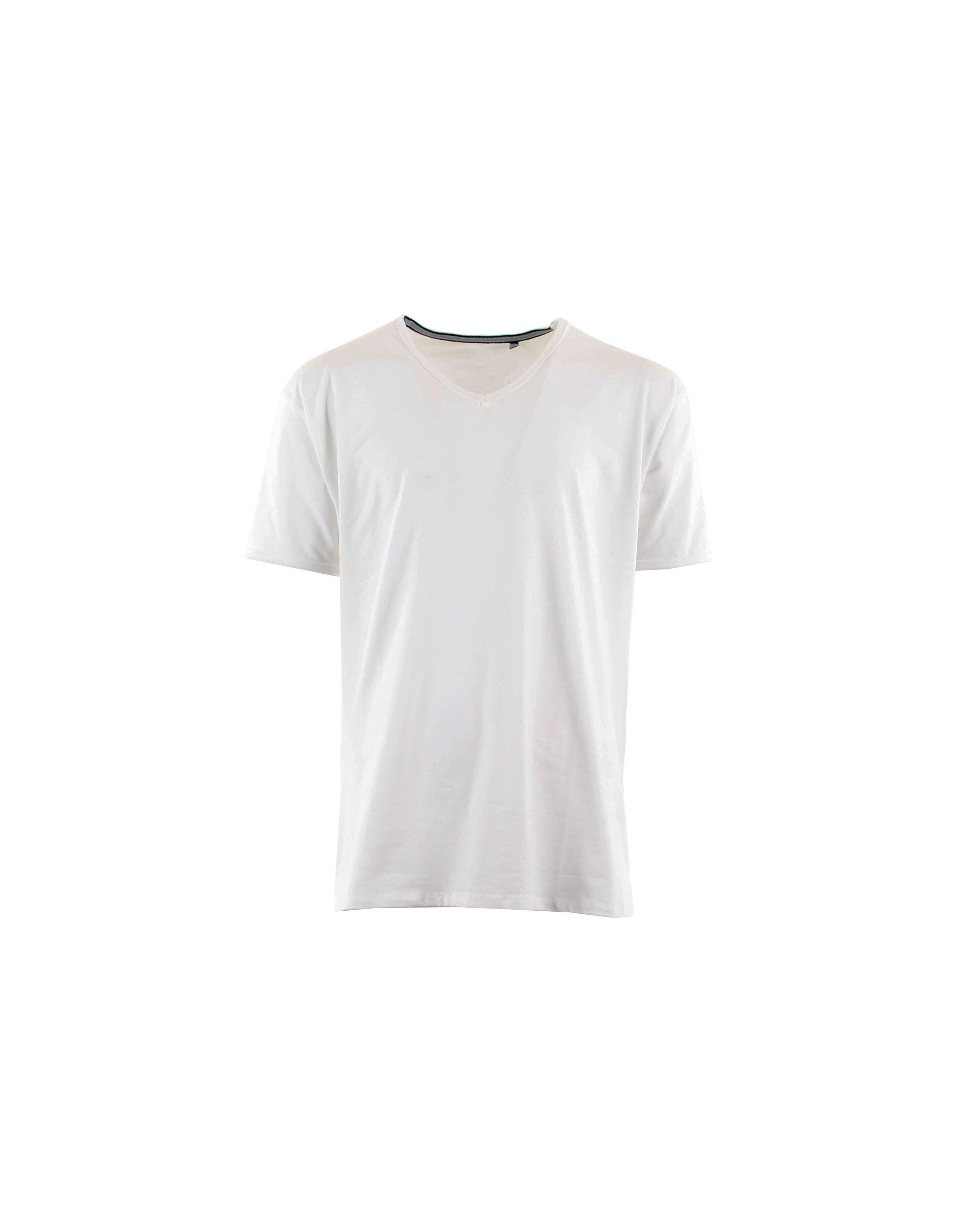 T-shirt col V hyper taille