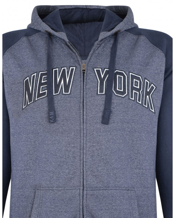 Sweat zippé New York