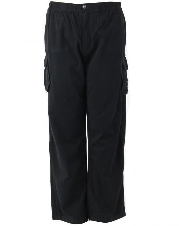 Pantalon cargo uni 33 pouces