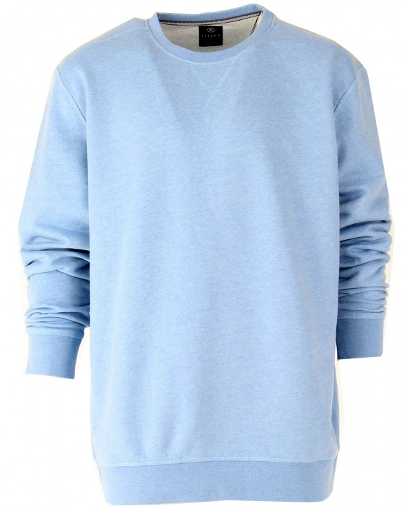 Sweatshirt uni col rond