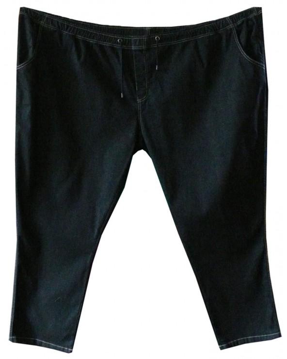 Jean taille élastique grande taille