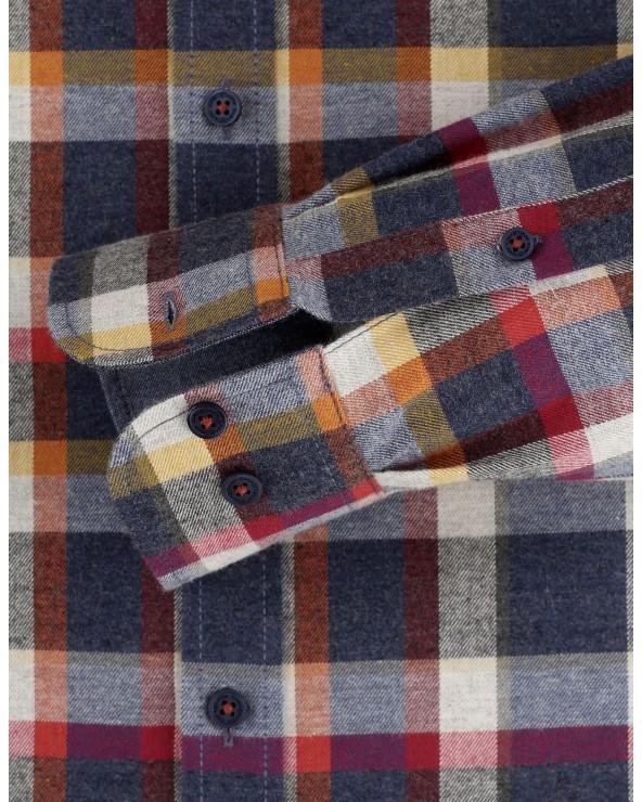 Chemise carreaux style bucheron