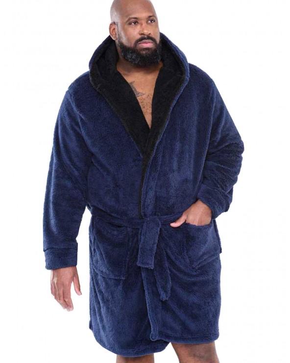 Robe de chambre à capuche