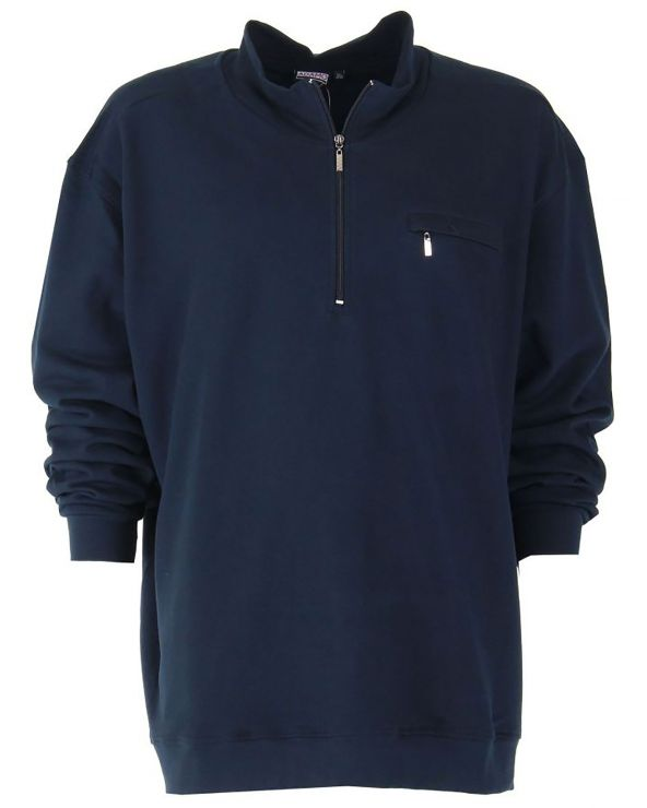 Sweatshirt col cammionneur Hyper Taille