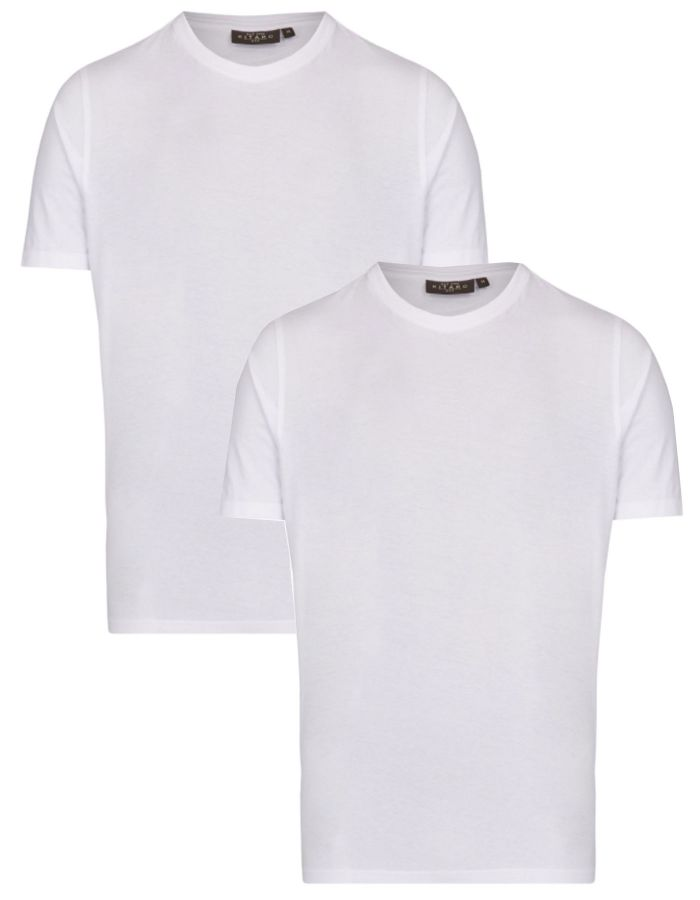 "T shirts ""Quality First"" en pack de 2"