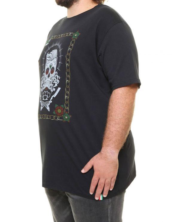 T shirt tête de mort