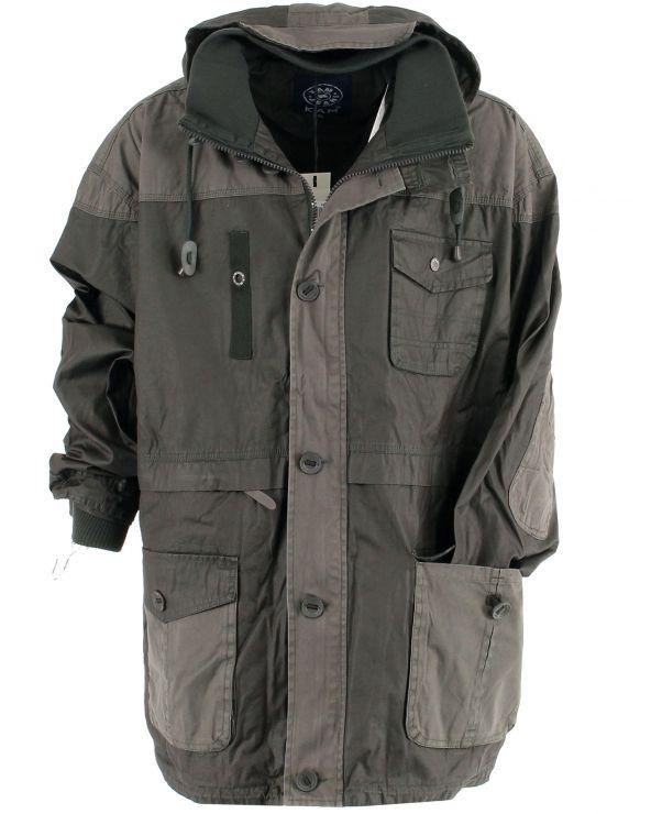 Manteau à capuche Casual
