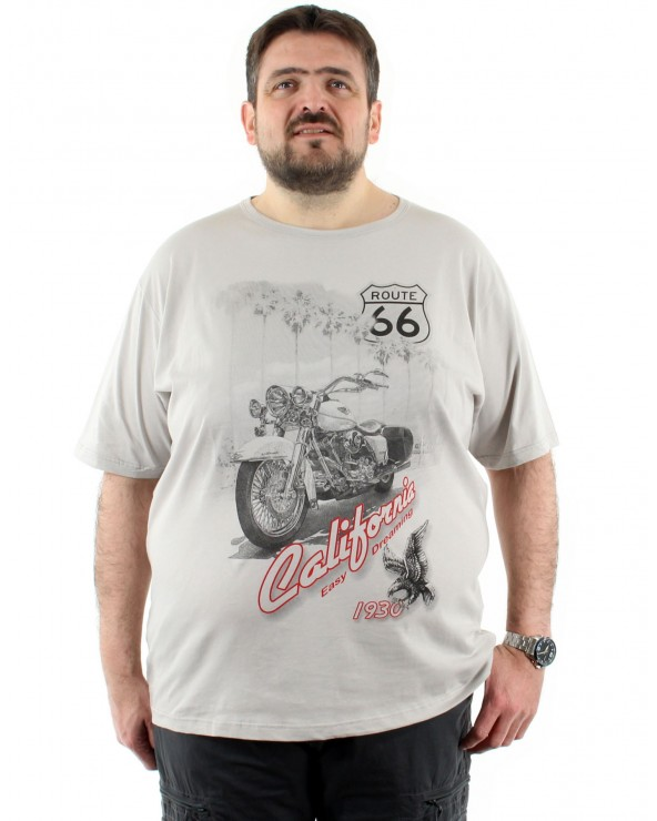 T shirt imprimé Route 66